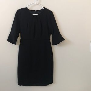 J. Crew Bell-Sleeve Sheath Dress